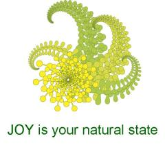 Joy is Natural State